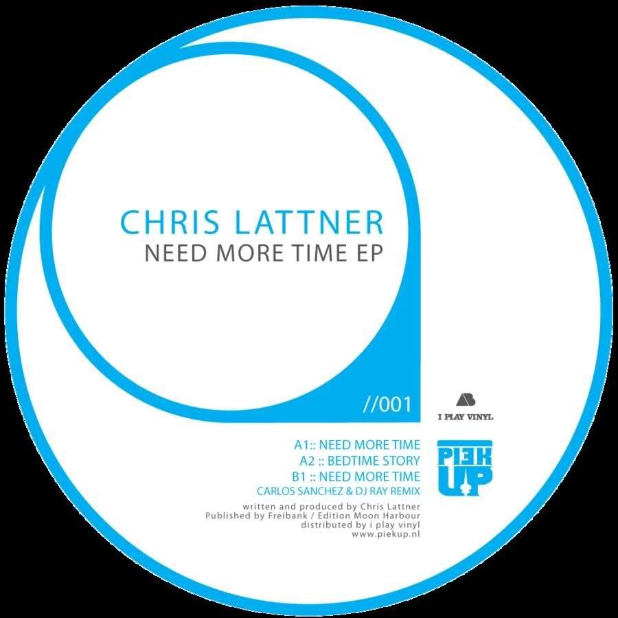 Chris lattner need more time ep piek001 electrobuzz for Best deep house tracks of all time