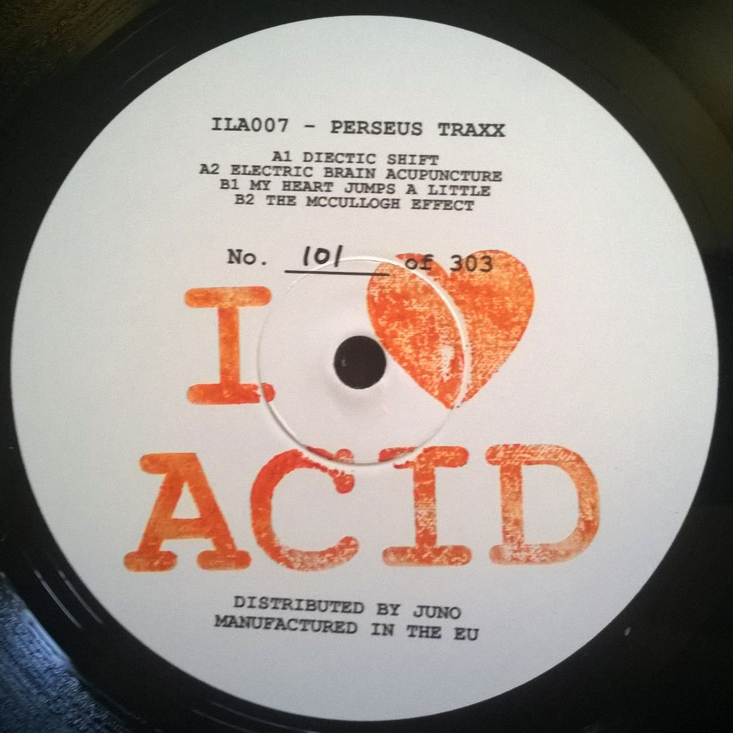 Perseus traxx i love acid 007 ila007 electrobuzz for Best acid house albums