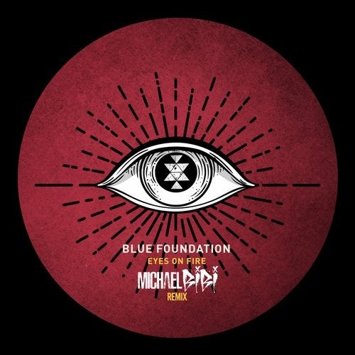 Release cover - Blue Foundation, Michael Bibi – Eyes On Fire (Michael Bibi Remix) / Solid Grooves Records