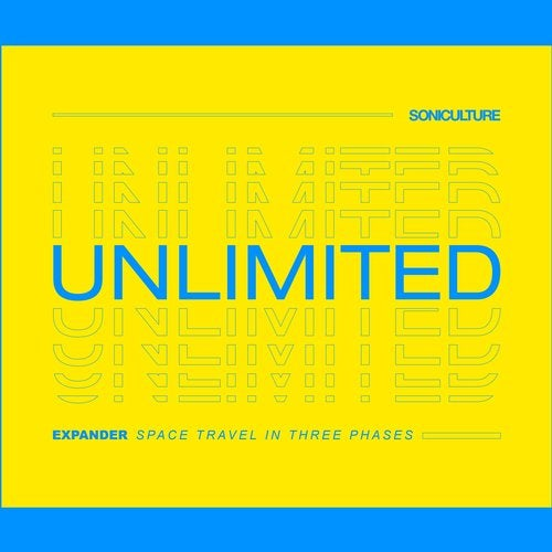 Release cover - Expander – Space Travel In Three Phases / SONICULTUREUNLIMITED037