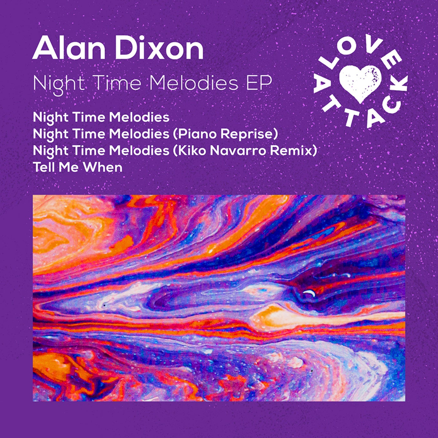 Download Night Time Melodies EP on Electrobuzz