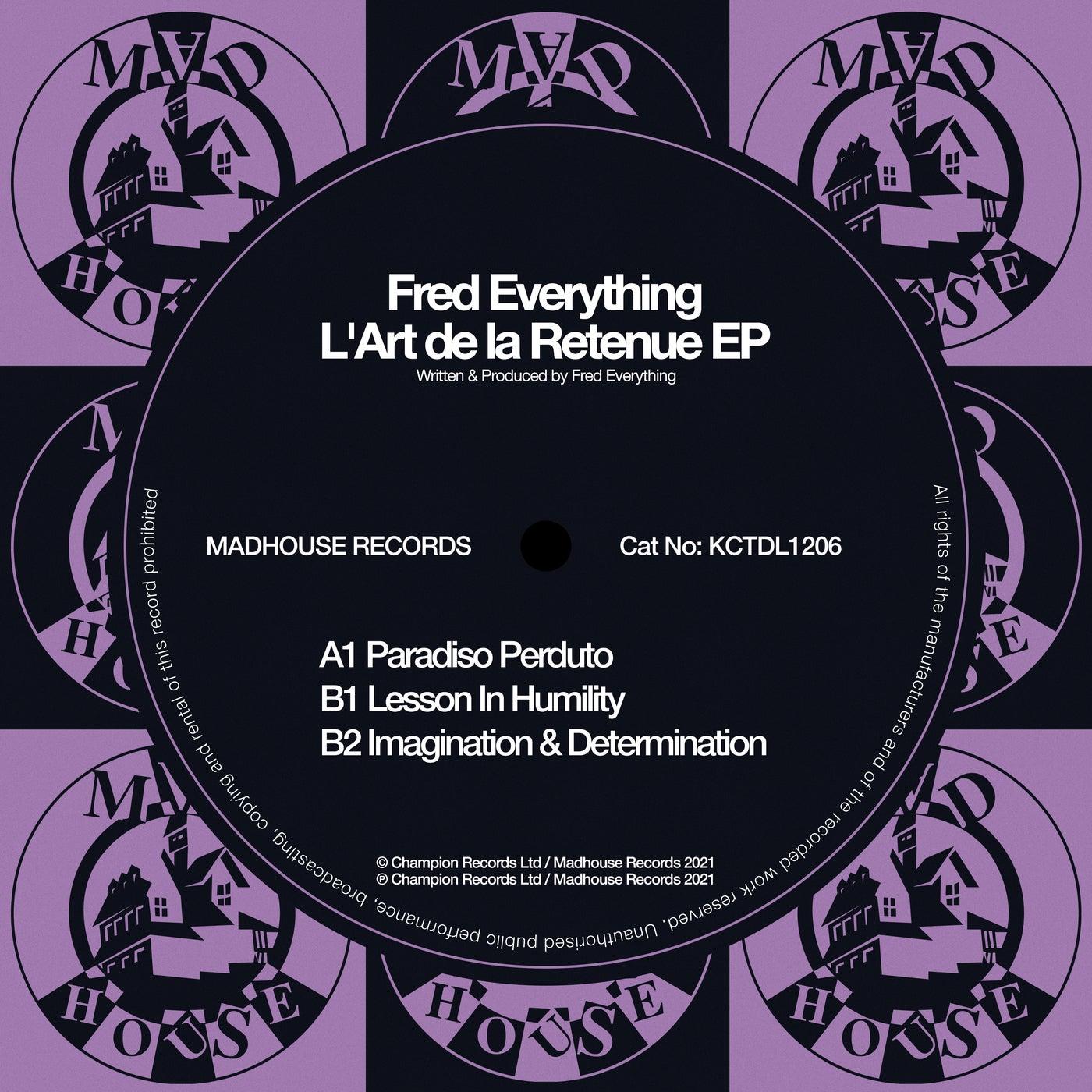 Download L'Art De La Retenue EP on Electrobuzz