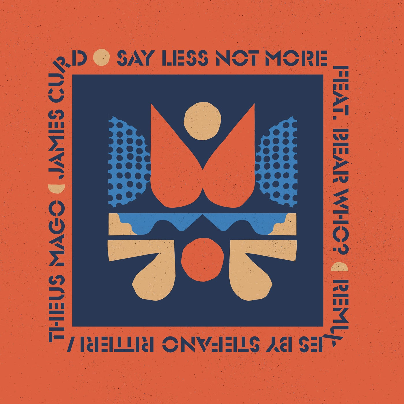 Release cover - Bear Who?, James Curd – Say Less Not More / EXPDIGITAL216