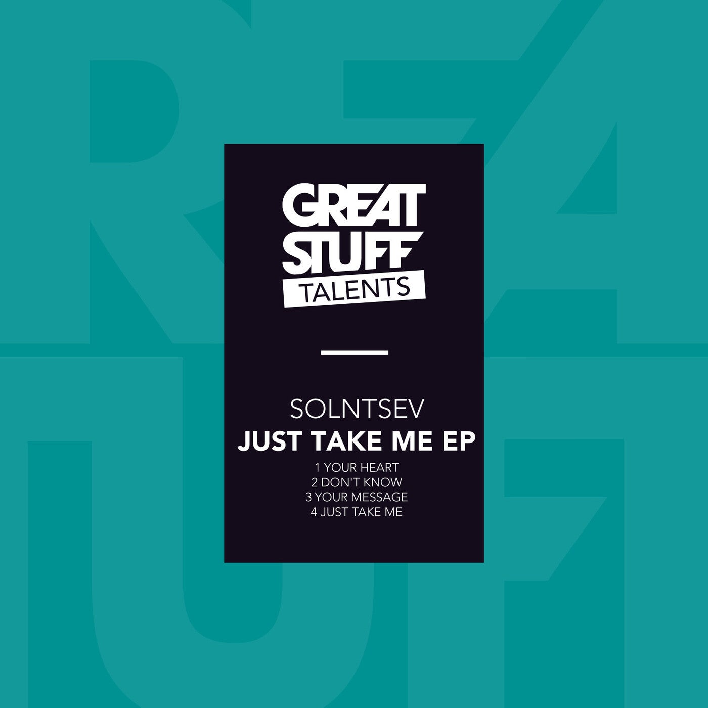 Download Just Take Me EP on Electrobuzz