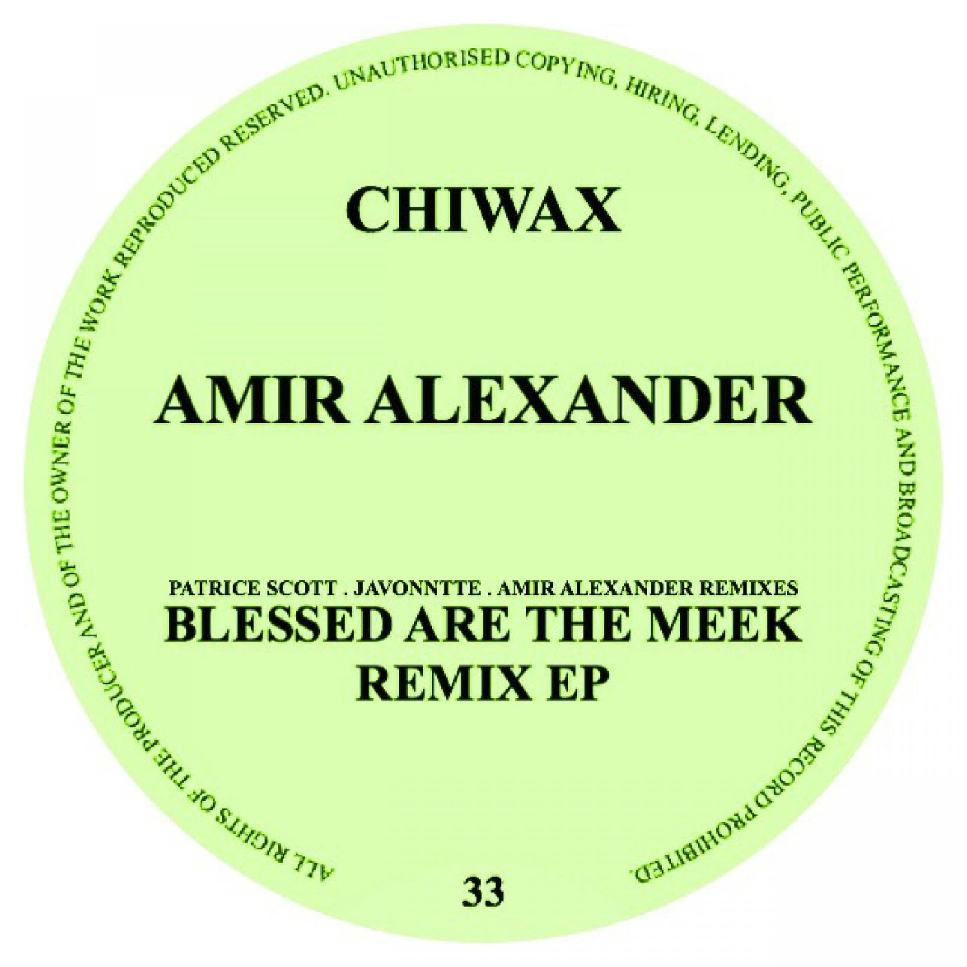 Download Blessed Are The Meek Remix EP on Electrobuzz